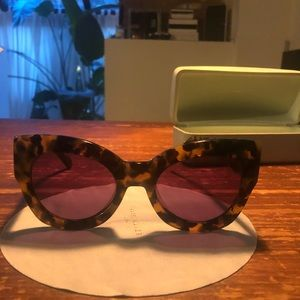 Karen Walker Northern Light Sunglasses, Tortoise